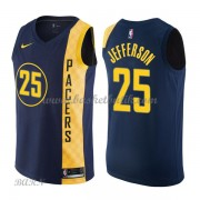 Barn NBA Tröja Indiana Pacers 2018 Al Jefferson 25# City Edition..